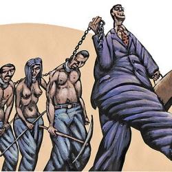 Фирташ и его «рабодержатели» виноваты в низких зарплатах в Украине…