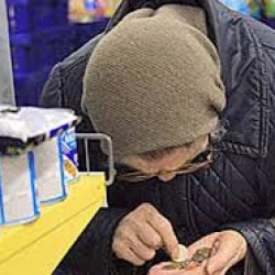 У властей Украины не оказалось денег на выплату пенсий