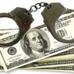 Охранник  банка устроил ограбление клиента