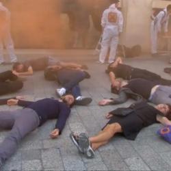 Франция: протесты против нестабильности банков