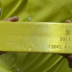 В Центробанке Эстонии остался на хранении один слиток золота