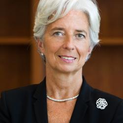 Кристин Лагард временно сложила с себя полномочия главы МВФ