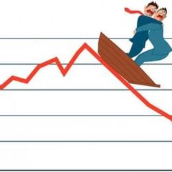 Уолл-стрит: Инвесторы опасаются возможного начала рецессии