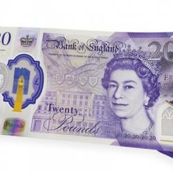 Банк Англии показал новую 20-фунтовую купюру из пластика