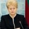 Коррупция является большей угрозой для Украины, чем российская агрессия - Грибаускайте