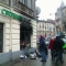 Вслед за Roshen начали жечь российские банки: полыхает во Львове